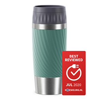 Tefal Travel Mug Easy Twist RVS/Groen