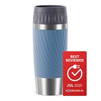 Tefal Travel Mug Easy Twist  RVS/Blauw