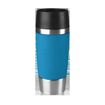 Blauwe Travel Mug